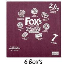 FOX i favoriti della selezione Catering 6 x 350 G SCATOLE DI BISCOTTI ALL'INGROSSO 221198