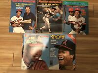 1977 Sport Magazine ROD CAREW Minnesota Twins ANGELS Lot of 5 Issues NO LABELS