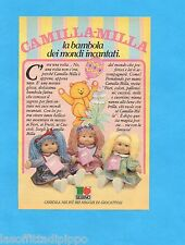 TOP985-PUBBLICITA'/ADVERTISING-1985- SEBINO - CAMILLA-MILLA