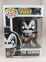 Rocks Funko Pop - The Demon - Kiss - No. 04