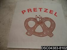 Qty= 2000: Fischer 590 Printed Pretzel Bags Double Open, Sku: 590, 721970007102