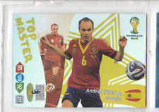 FIFA World Cup Brasil  2014 Top Master Andres Inesta  Panini Adrenalyn XL