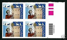 Italia Repubblica 2012 : Lunario Barbanera - quartina con codice a barre - MNH**