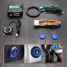 Car RFID Engine Push Stop Start Button Lock Ignition Starter Keyless Entry Card
