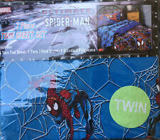 (Ultimate Spiderman Sheets) 3 Piece (Twin) Sheet Complete Set
