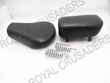 ROYAL ENFIELD CLASSIC C5 FRONT DRIVER & REAR PASSENGER COMPLETE SEAT #RE130 (C71