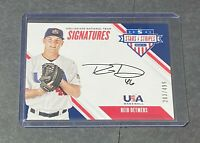 2020 Stars And Stripes Signatures Reid Detmers /499 On Card Auto ANGELS