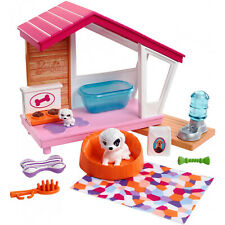 Barbie Indoor Furniture Dog House Accessories Set NEW