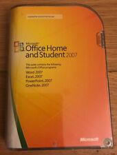 Microsoft Office 2007 Home and Student PC CD-ROM