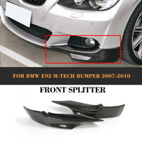 Carbon Splitter Front Flaps Stoßstange Spoiler für BMW 3er E92 E93 M-Paket 07-10