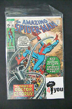 3.0 GD/VG VERY GOOD AMAZING SPIDER-MAN # 88 US EDITION OWP YOP 1970