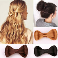 Women Girl's Hair Clips Bow Ties Wig Hairpin Knot Pins Barrette Hair Accessories