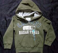 NWOT ~ THE CHILDREN'S PLACE olive green hoodie jacket ~ boys SMALL 5 6