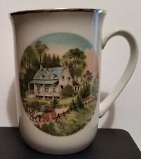 Currier and Ives Season Mug, Summer. Made in Japan