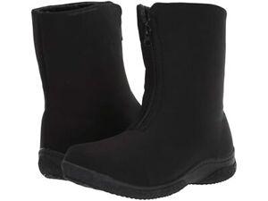 Propet Madi Mid Zip WBX025N Boot - Women's Size 9 N(AA), Black NEW