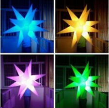 Inflatable Party Decoration Star with LED Changeable Light and Blower A