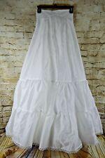 Davids Bridal Wedding Dress Slip Underskirt Size 6 White