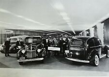 """12 By 18"""" Black & White Picture 1940 Ford Commercial Truck dealer display"""