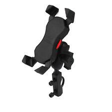 X Shape Motorcycle Bike handlebar clutch/brake lever Mount Grip Cellphone  Phone