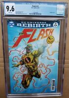 Flash #21 CGC 9.6 The Button * Lenticular 3D Variant Cover * Batman Crossover DC