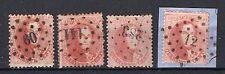 (B) 16° gestempeld 1863 - Getande medaillons (4 stuks)