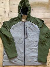 Patagonia Snap Dry Hoody Jacket Green-Grey — Mens Size L — NWT