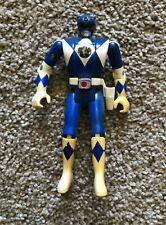 Vintage 1995 Power Rangers Action Figure Toy Tv Show Bandai Blue