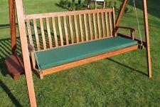 Garden Furniture Cushion- 3 Seater Swing Seat or Large Bench Cushion- Green