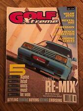 Golf Xtreme Magazine Oct 1999 Classic VW Mk1 Mk2 Mk3 Mk4 Golf, Corrado, Jetta.