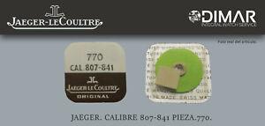 Jaeger-Lecoultre. CALIBRE.807-841. Pieza. 770