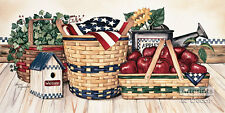 *Basket & Things by Laurie Korsgaden (Art Print)