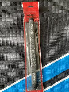 Winn Medalist Pistol Dri-tac Putter Grip In Grey- New