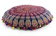 Indische Sitzkissen Bodenkissen Yogakissen Mandala Kissen Meditationskissen