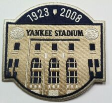 "Yankees patch New York Yankee sleeve patch  MLB logo patch Last Season 4.25"""