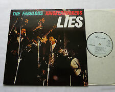 The Fabulous KNICKERBOCKERS Lies GERMANY 12 tks LP LINE (RE-1982) garage beat