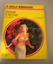 AMAMI E MUORI - Day Keene - Il giallo Mondadori n° 974 1967