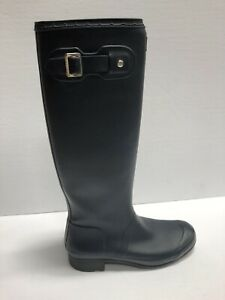 Hunter Original Tour Rain Boot Navy Size 8 M