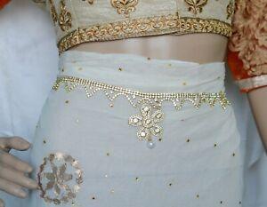 Indian Cubic Zircon Waist Chain Hip Belt Chain kamar Bandh For Women And Girls