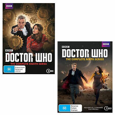 DOCTOR Dr WHO Complete the 8th & 9th Series Season 8 + 9 DVD R4 New Sealed