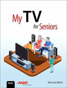 My TV for Seniors Paperback Michael Miller