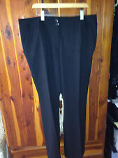 AMANDA + CHELSEA BLACK  DRESS TROUSERS SLACKS SIZE 18W  NWOT
