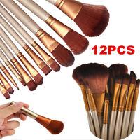 Pro Makeup Cosmetic Eyeshadow Powder Lip Blush Contour Foundation Brush Tool New