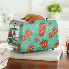 🔥 New The Pioneer Woman Vintage Floral 2 Slice Toaster New in box Rare