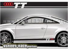 Audi 004 racing stripes graphics stickers decals TT quattro