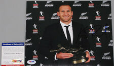 KIERAN REED Allblacks Capt Hand Signed 8'x10' Photo + PSA DNA COA  NEW ZEALAND