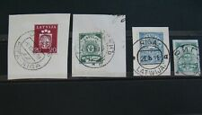 RIGA - Latvia stamps, Latvian interesing provincial cancel - Riga