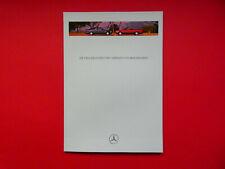 Prospekt / Katalog / Brochure Mercedes W124 E-Klasse Coupe und Cabriolet  09/94