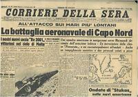CORRIERE DELLA SERA 16 MAGGIO 1942  GIORNALI DI GUERRA