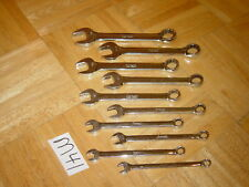SNAP-ON TOOLS 10 PIECE SAE. SHORT COMBINATION WRENCH SET 9/32 TO 3/4