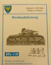 Friulmodel 1/35 German Neubaufahrzeug Metal Track Link Set ATL-119